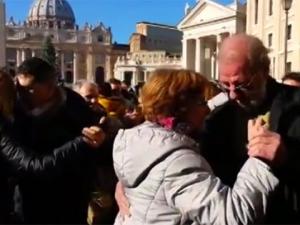 tango v Vaticane