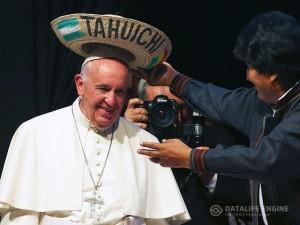 papa v Bolivii