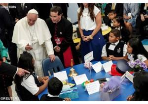 Papa i deti