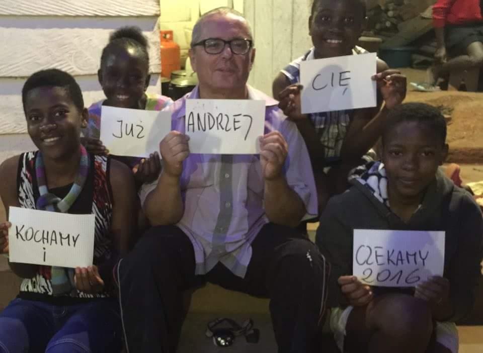 У Камеруне ўжо чакаюць Анджэя
